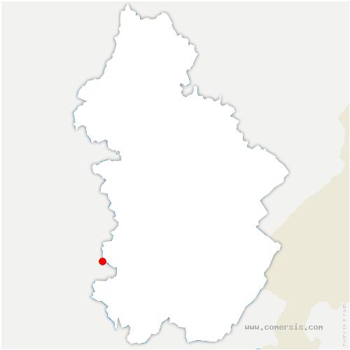 carte de localisation de Digna