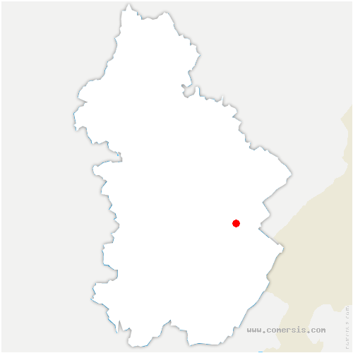 carte de localisation de Fort-du-Plasne