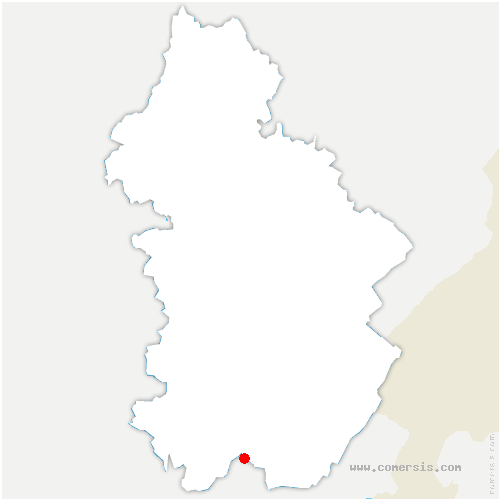 carte de localisation de Lavancia-Epercy