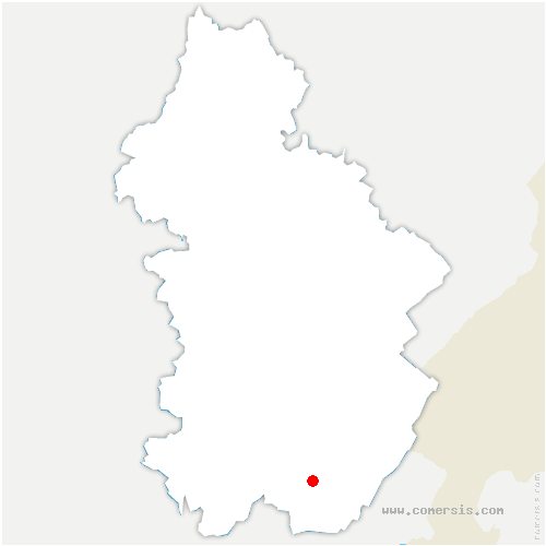 carte de localisation de Lavans-lès-Saint-Claude