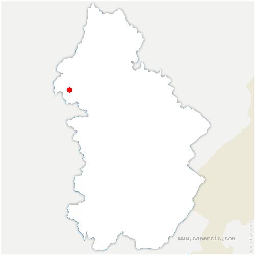 carte de localisation de Petit-Noir