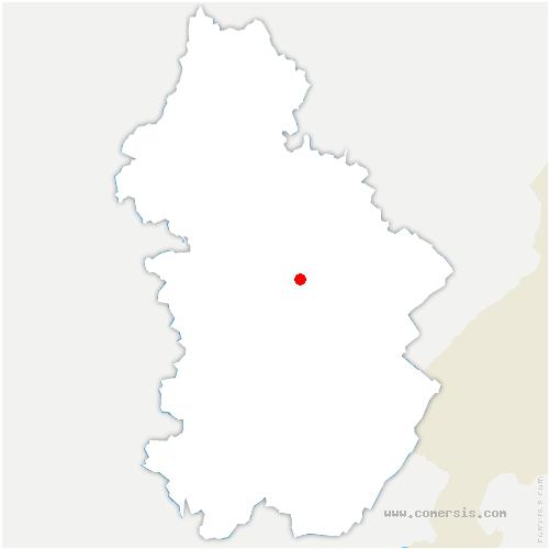 carte de localisation de Picarreau