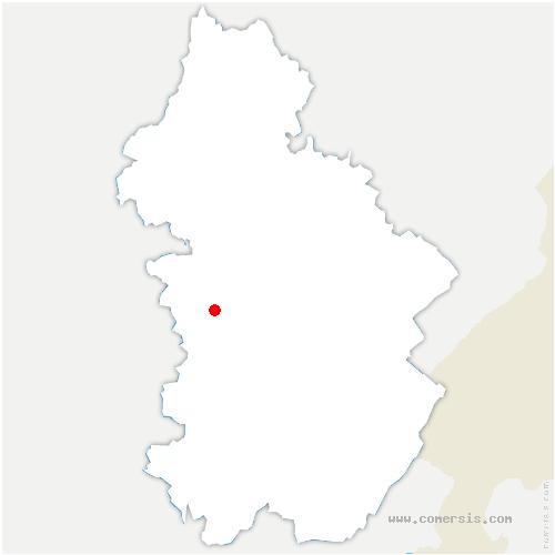 carte de localisation de Saint-Didier