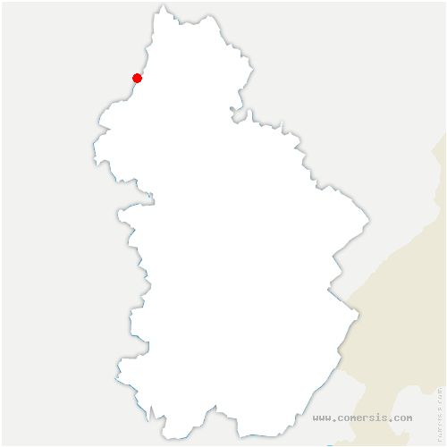carte de localisation de Sampans