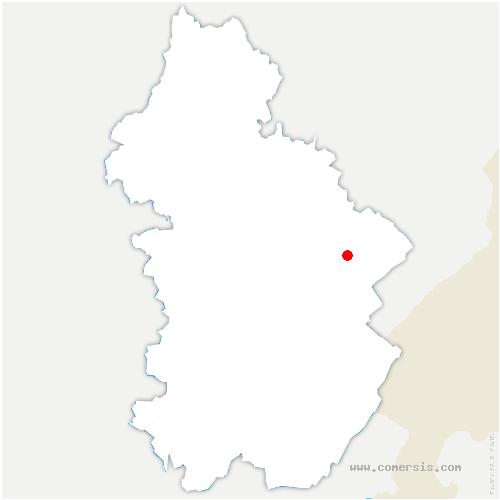 carte de localisation de Sirod