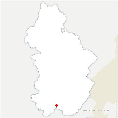carte de localisation de Vescles