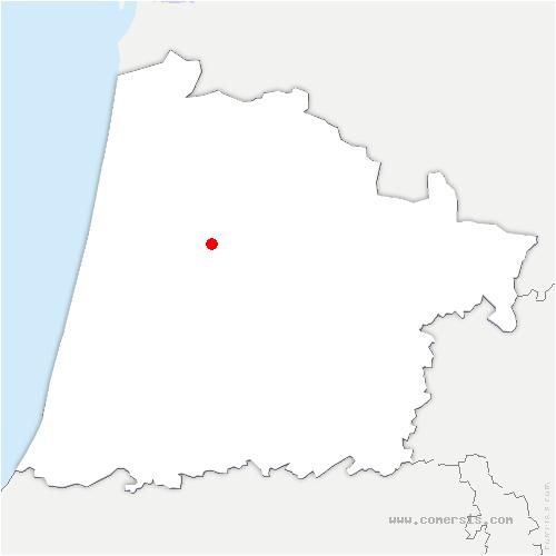 carte de localisation de Morcenx-la-Nouvelle