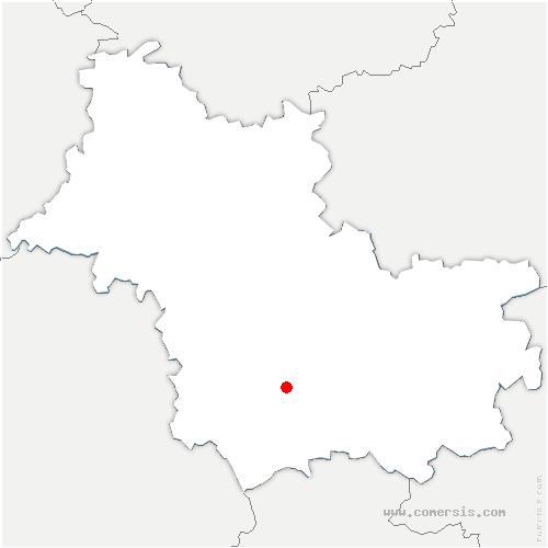 carte de localisation de Le Controis-en-Sologne