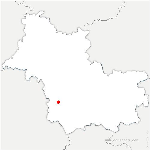 carte de localisation de Sambin