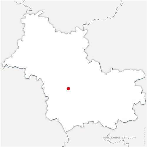 carte de localisation de Seur