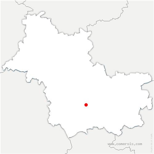 carte de localisation de Soings-en-Sologne