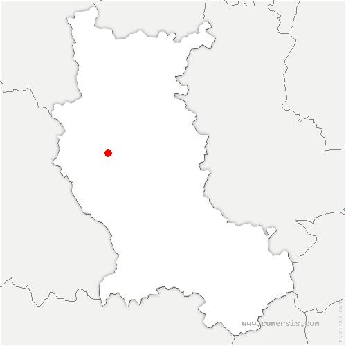 carte de localisation de Cezay