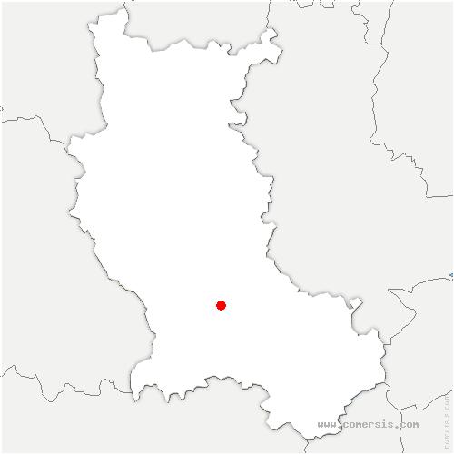 carte de localisation de Craintilleux