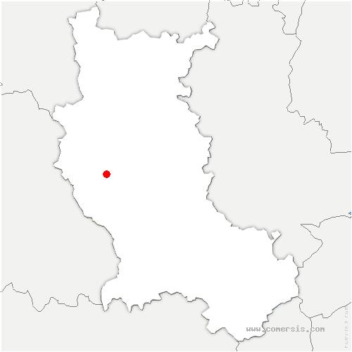 carte de localisation de Débats-Rivière-d'Orpra