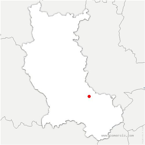 carte de localisation de Gimond