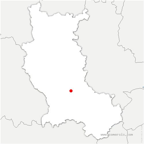 carte de localisation de Hôpital-le-Grand