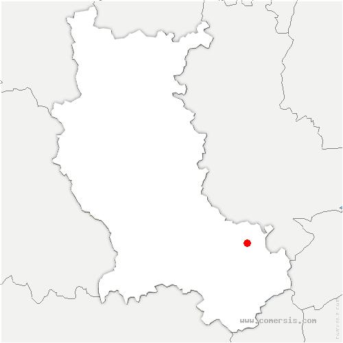 carte de localisation de Lorette