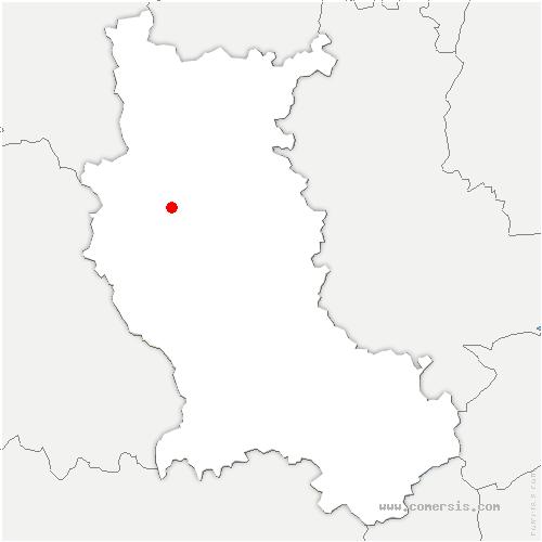 carte de localisation de Luré