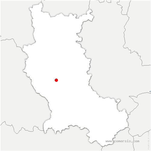 carte de localisation de Marcoux