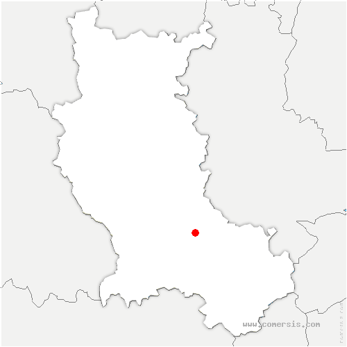 carte de localisation de Saint-Bonnet-les-Oules