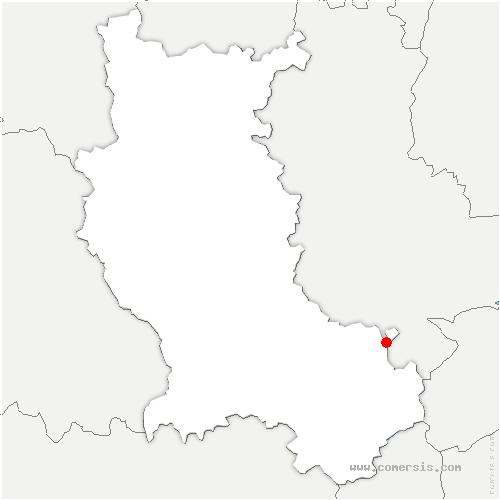carte de localisation de Saint-Joseph
