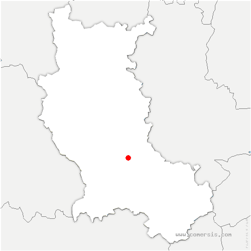 carte de localisation de Unias