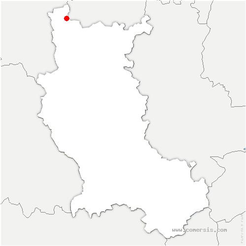 carte de localisation de Urbise