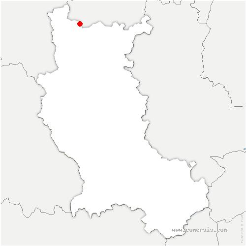 carte de localisation de Vivans