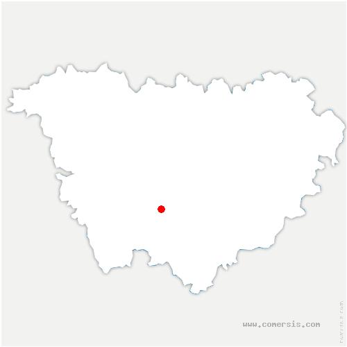 carte de localisation de Saint-Privat-d'Allier