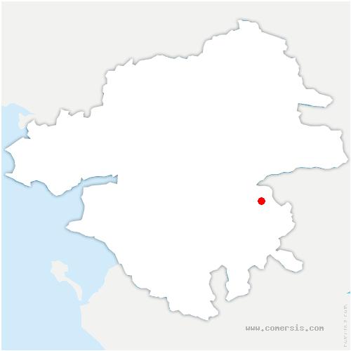 carte de localisation de Divatte-sur-Loire