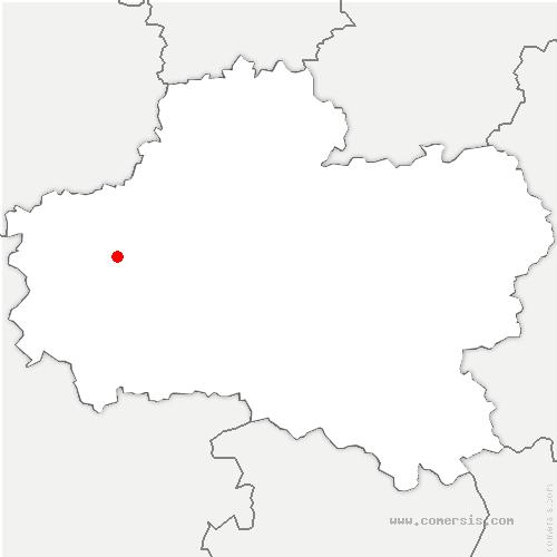 carte de localisation de Ingré