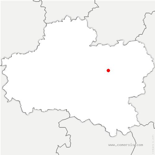 carte de localisation de Lombreuil