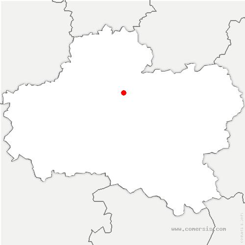 carte de localisation de Nibelle