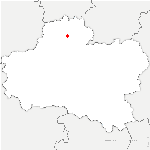 carte de localisation de Pithiviers