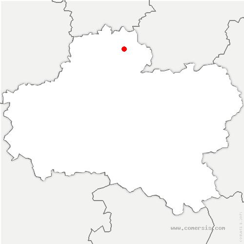 carte de localisation de Ramoulu