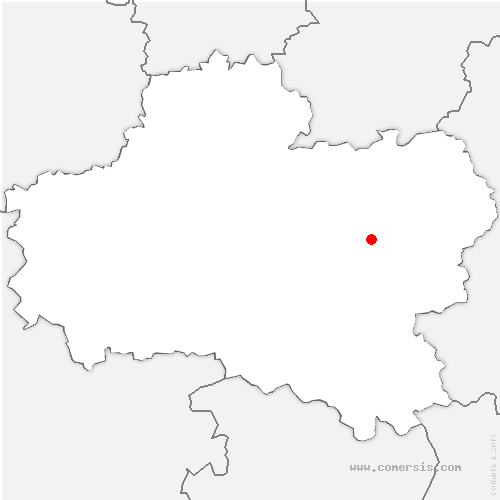 carte de localisation de Solterre
