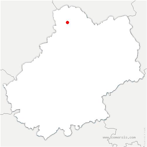 carte de localisation de Baladou