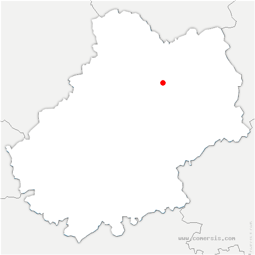 carte de localisation de Bio