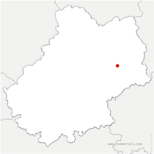 carte de localisation de Bourg