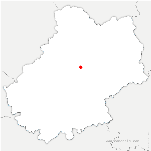 carte de localisation de Cœur-de-Causse