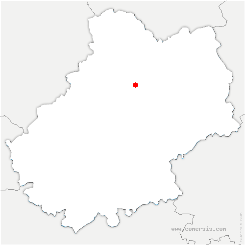 carte de localisation de Couzou