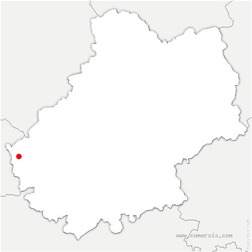 carte de localisation de Duravel