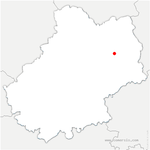 carte de localisation de Espeyroux