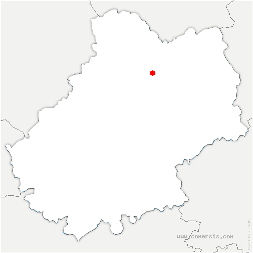 carte de localisation de Gramat