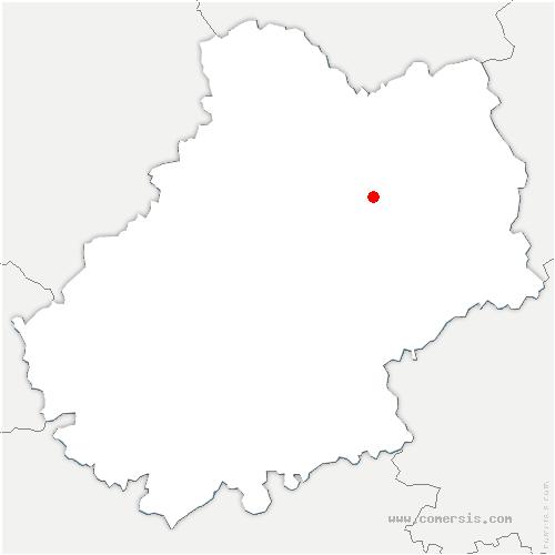 carte de localisation de Issendolus