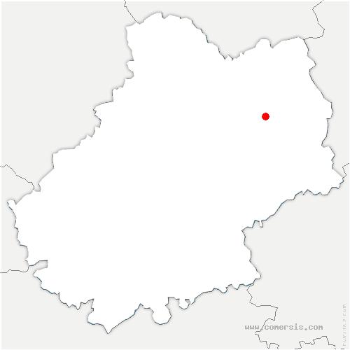carte de localisation de Leyme