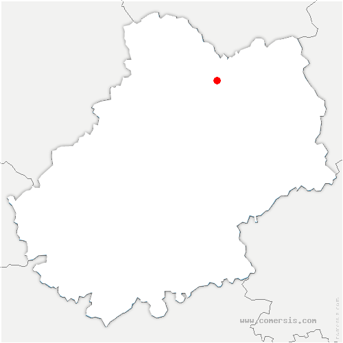 carte de localisation de Padirac