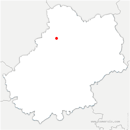 carte de localisation de Payrac