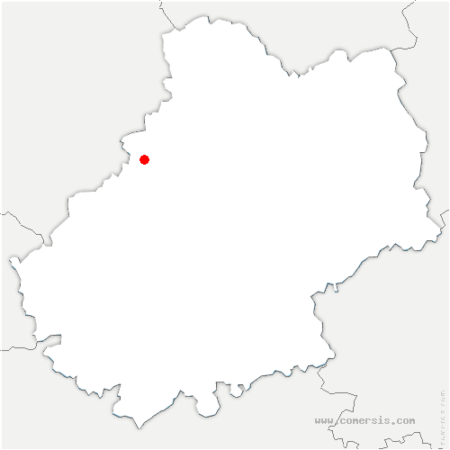 carte de localisation de Payrignac