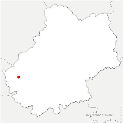 carte de localisation de Pescadoires